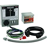 Generac 6408 30-Amp 6-10-Circuit Indoor Manual Transfer Switch Kit for Maximum 7,500 Watt Generators