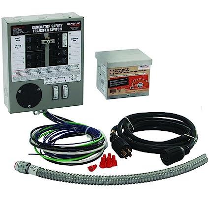 amazon com generac 6408 30 amp 6 10 circuit indoor manual transfer rh amazon com generac manual transfer switch 6294 generac transfer switch installation manual