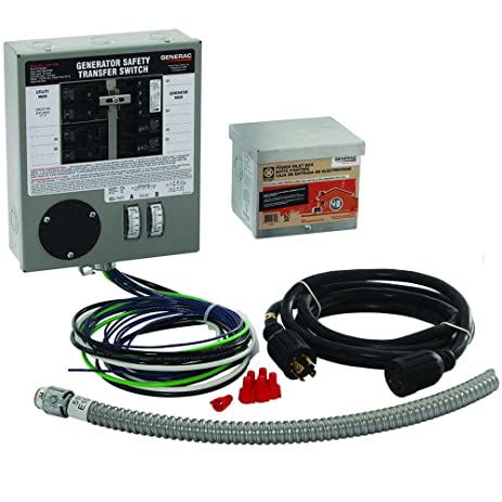 71fQofn5uSL._SY463_ amazon com generac 6408 30 amp 6 10 circuit indoor manual generac wiring harness at webbmarketing.co
