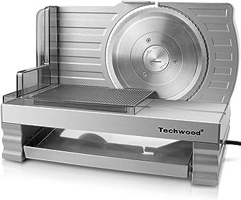 "Techwood Electric Deli 6.7"" Meat Slicer"