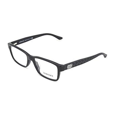 Amazon.com: Versace Men\'s VE3198 Eyeglasses 55mm: Shoes
