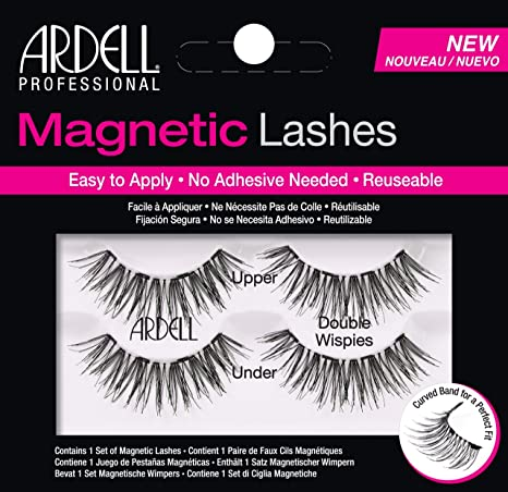 95f9157c87c Buy Ardell Magnetic Double Demi Wispies, Black, 10 g Online at Low Prices  in India - Amazon.in