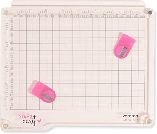 Vaessen Creative Easy Stamp Platform Tool for Accurate Craft Stamping