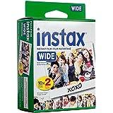 Papier Photographique Film Lot DE 20 Fujifilm INSTAX Polaroid Compatible avec Caméra Fujifilm instax Wide 300, 200, et 210