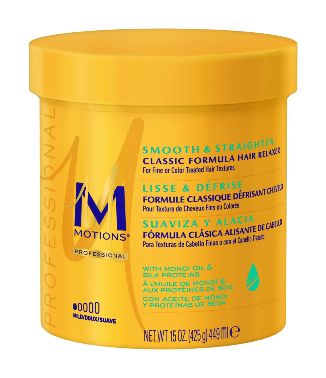 Motions Smooth & Straighten Hair Relaxer, Mild 15 ounce