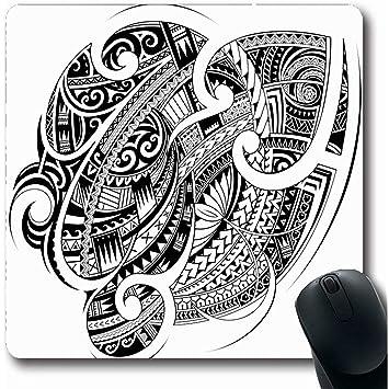 Alfombrillas De Ratón Maorí Polinesio Étnico Buena Manga Resumen ...