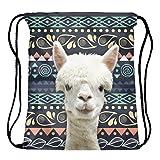 Jom Tokoy Packable Print Drawstring Bags Lightweight Travel Backpack