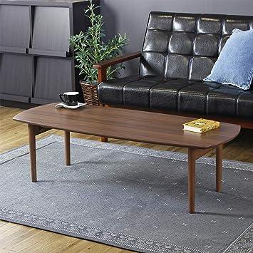 amazon co jp 岩附 iwatsuki 折りたたみテーブル 木製 幅120 完成品