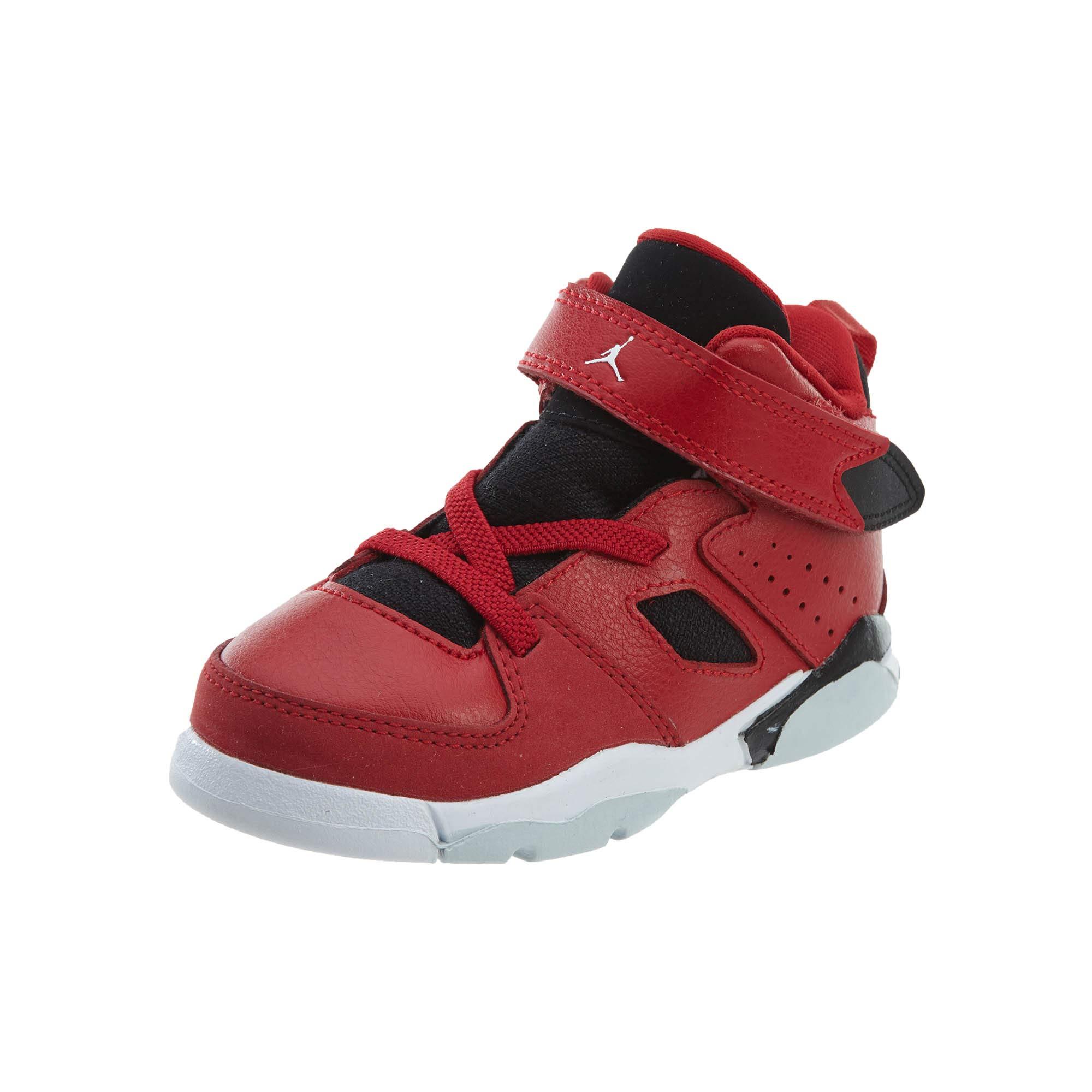 Jordan Toddler Flight Club 91 (TD) Gym RED White Black Size 7 by Jordan