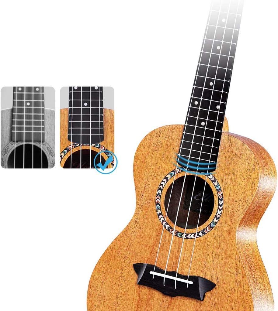 Guitarras Principiantes Mahogany Soprano Ukulele Nylon 4 cuerdas ...