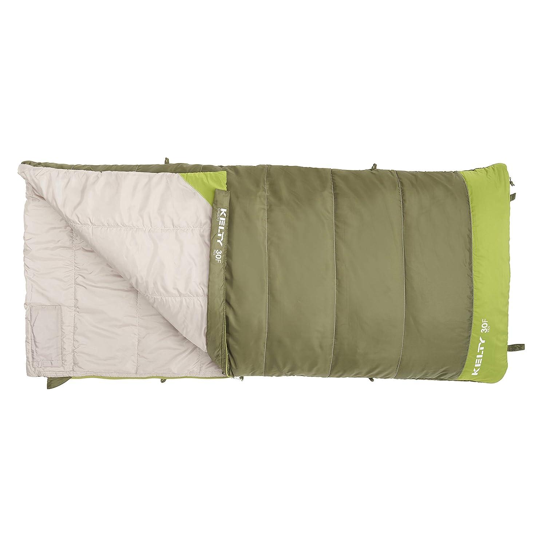 Kelty Boys Callisto Kids 30 Degree RH Sleeping Bag, Avocado Spinach, Short
