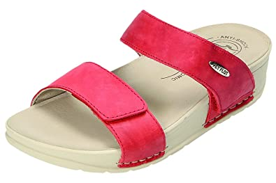 21667b23ed6d Fly Flot Women s Clogs Red Red Red Size  5 UK  Amazon.co.uk  Shoes ...