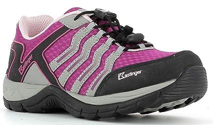 KastingerMOUNTAIN - Hiking shoes - fuchisa/grey/pink aj8uin