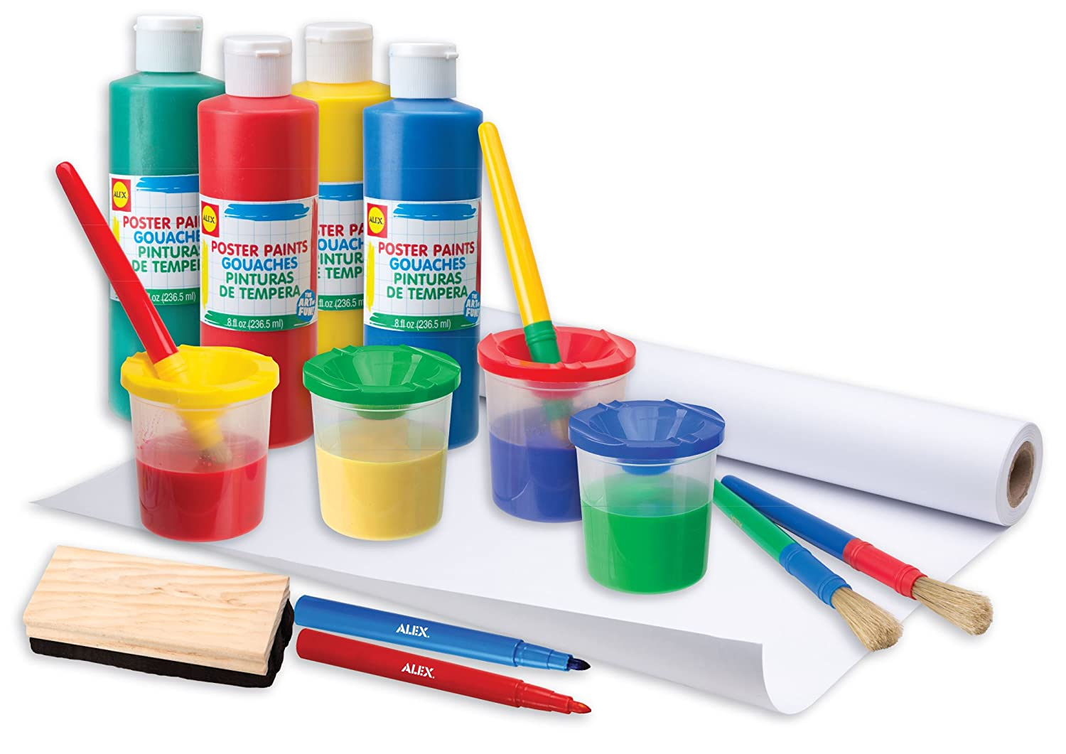 Alex toys artist studio ultimate easel accessories painting kit alex toys artist studio ultimate easel accessories painting kit 21e easels amazon canada sciox Images