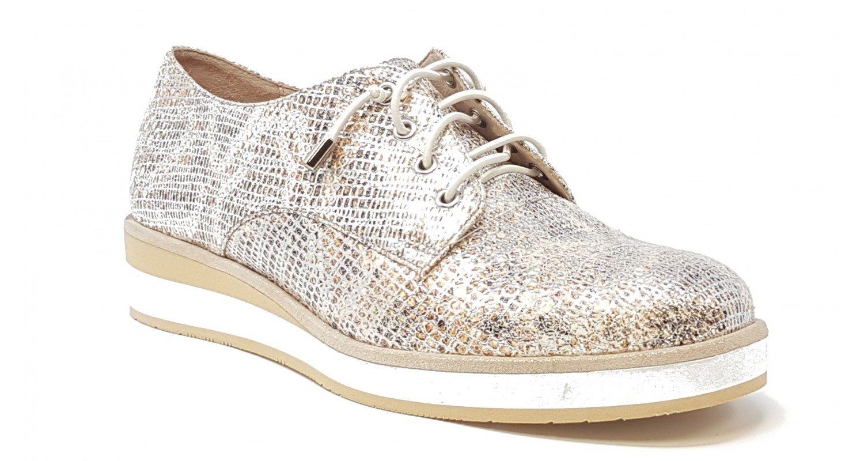 Fugitive - Zapatos de Cordones para Mujer 39 EU|Beige