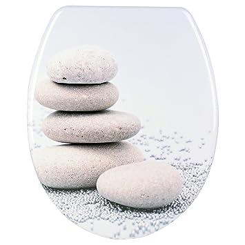 toilettendeckel toilettensitz wc sitz duroplast mit absenkautomatik steine - Duroplast Beispiele