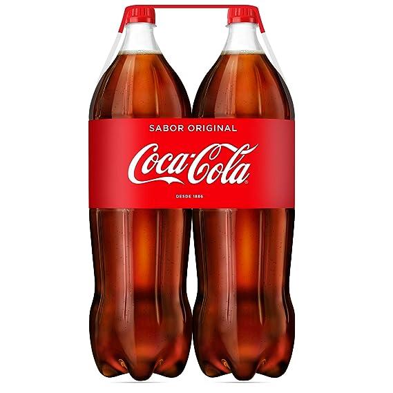 Coca-Cola - Botella de Plástico 2 litros - Pack de 3 (Total 12
