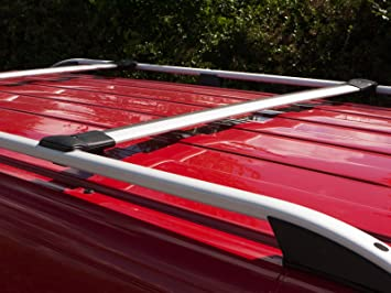 SWB Van Demon Aluminium Roof Rails Pair Roof Bars Fits Ford Transit Custom 13+