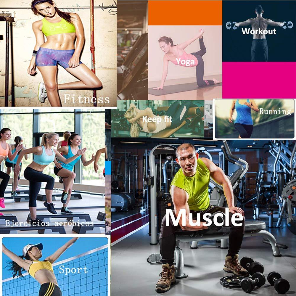 XDSP Bauchwegg/ürtel Fitnessg/ürtel Taille Trainer G/ürtel Bauchgurt Abnehmen Waist Trainer Abnehmen Verstellbarer Schwitzg/ürtel Damen Herren