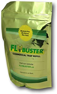Flybuster Fly Trap - Outdoor Living Fly Trap, Pest Control Trap, Commercial Refill