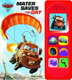 Disney Pixar Cars PlayaSound Book Editors Of Publications - Cars 2 cool cars book