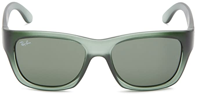 103dd4114cc Amazon.com  Ray-Ban RB4194 - GREEN DEMI GLOSS Frame GREEN Lenses 53mm Non- Polarized  Clothing
