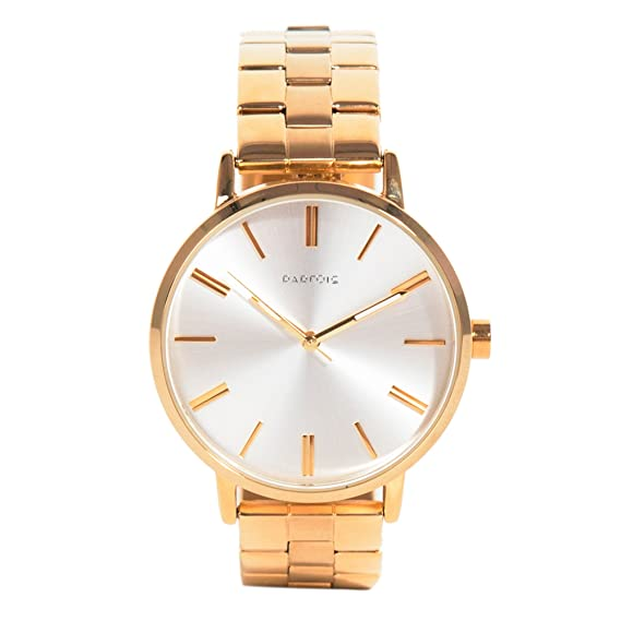 Parfois - Relojes Relojes Metal Dorado - Mujeres - Tallas Única - Dorado: Amazon.es: Relojes