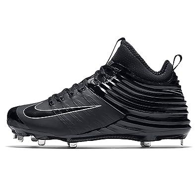 premium selection efd08 6f14d Amazon.com | Nike Lunar Vapor Trout 2 Black Men's Baseball Cleats 11 ...