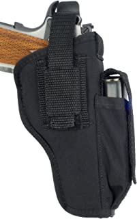 product image for Soft Armor Ambidextrous Nylon Hip Gun Holster with Molded Thumb Break Retention