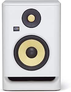 KRK RP5 Rokit 5 G4 Profesional Bi-Amp 5 Pulgada Monitor de Estudio, Ruido Blanco