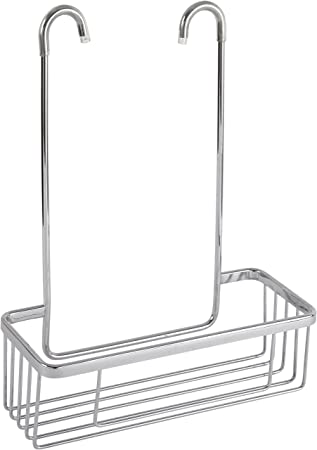 Cesta portagel Para Grifería De Ducha Y Bañera de aluminio inoxidable, sin taladros.
