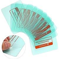 Cubierta de soldadura Placa protectora de lente, no es fácil de romper Accesorios de electricista 10 piezas para máquina…
