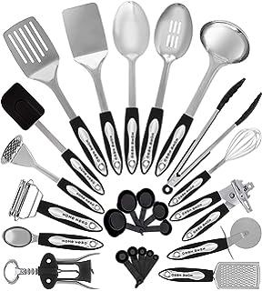 Amazon.com: Home Hero Kitchen Utensil Set - 23 Nylon Cooking ...