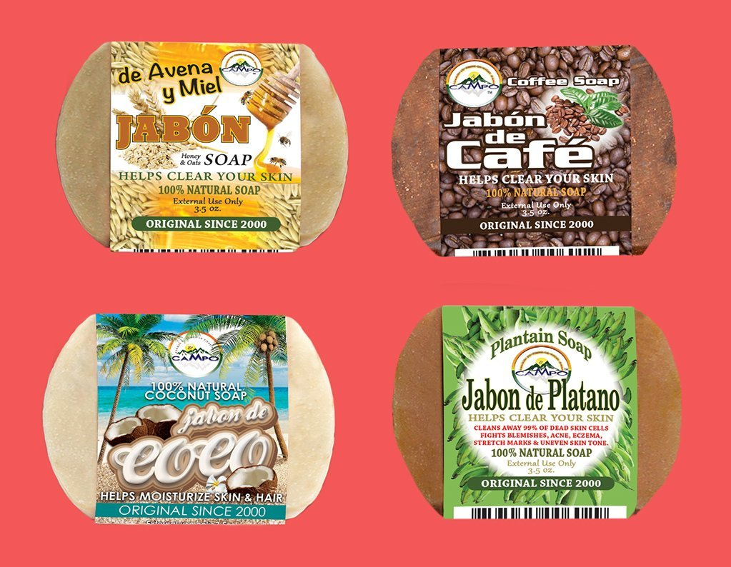 Amazon.com: Jabon De Avena Y Miel (Oatmeal and Honey Soap)12 Bars $14.99 Use Once and See the Difference: Home & Kitchen