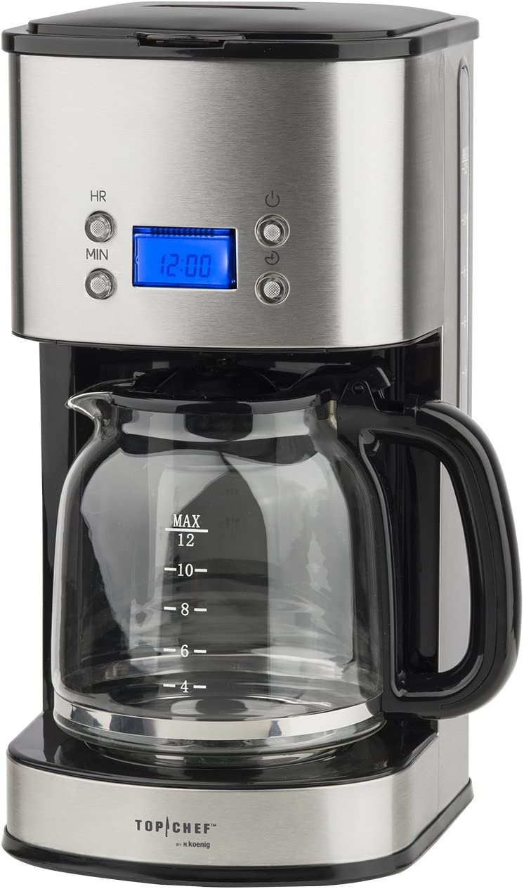 TOP CHEF TOPC558 CAFETIERE PROGRAMMABLE 12 20 TASSES +