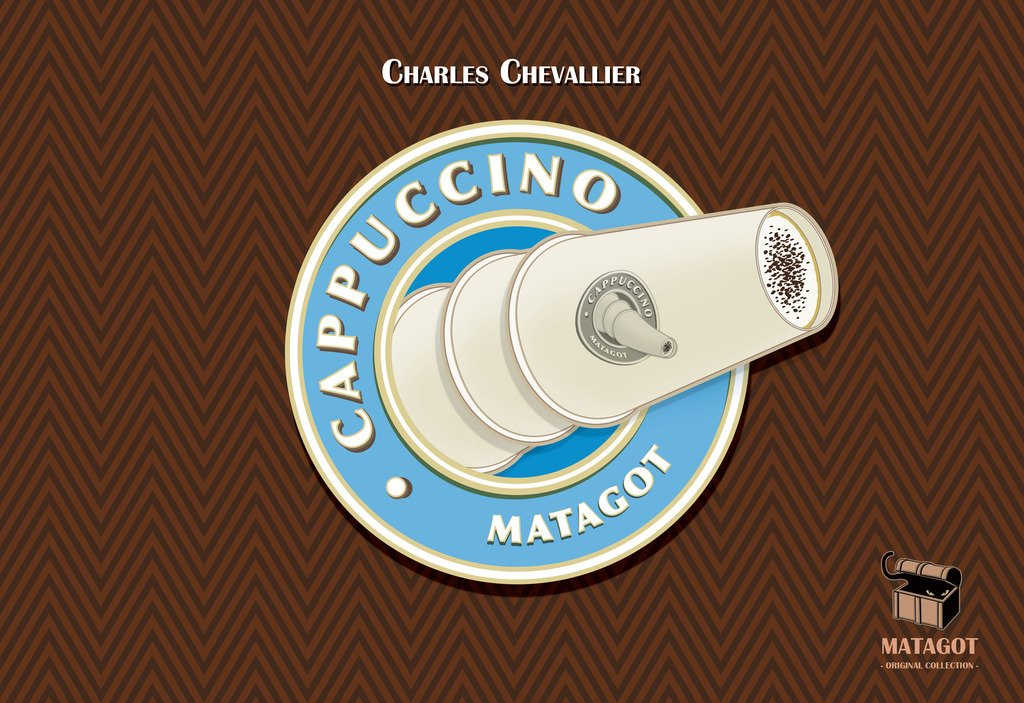Asmodee Cappuccino Game Publisher Services Inc CAPP01ASM PSI