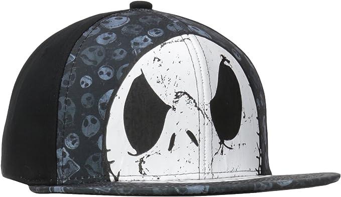 Pesadilla antes de Navidad - Jack angustiado jefe Snapback gorra: Amazon.es: Ropa y accesorios
