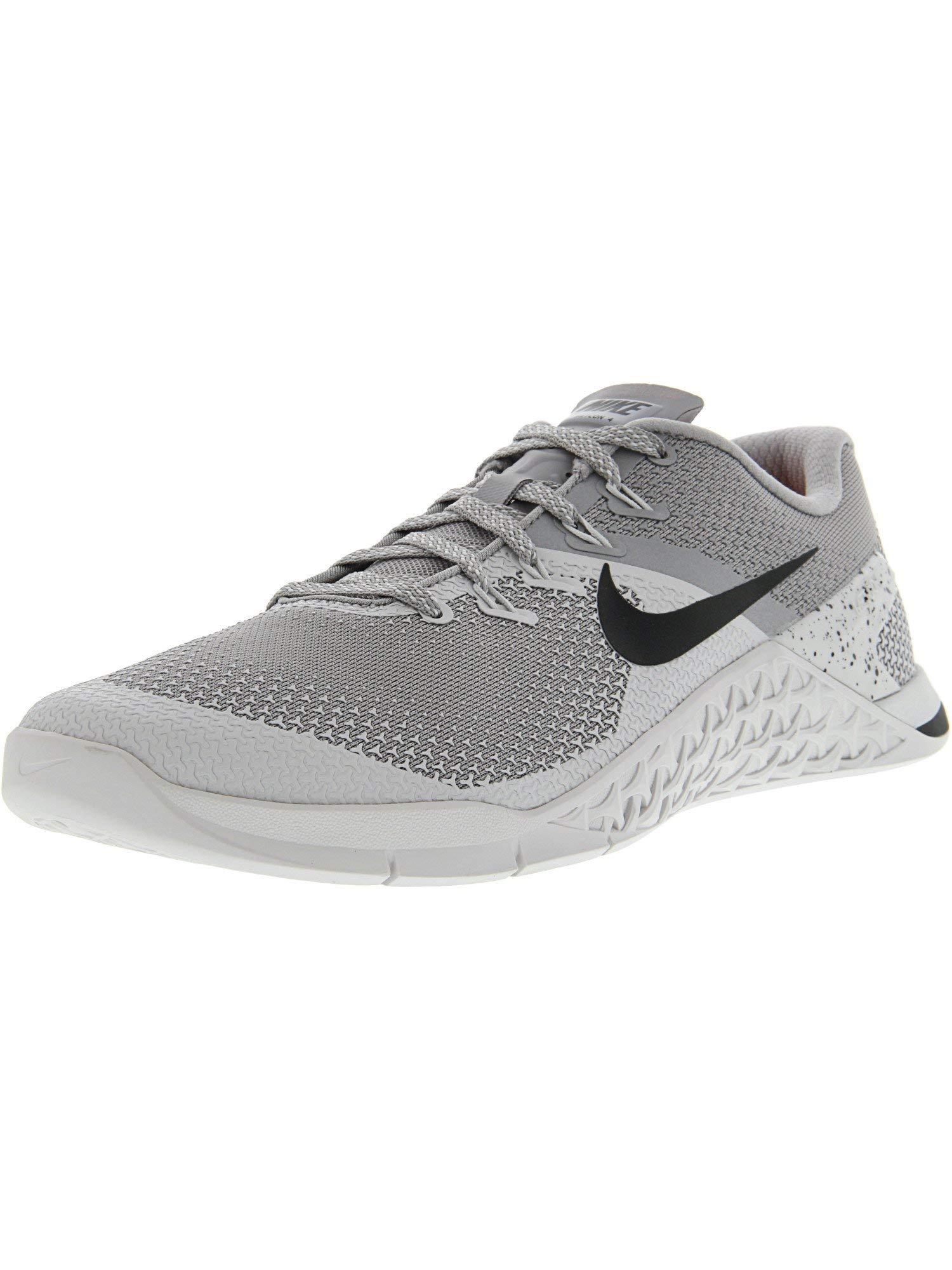Nike Men's Metcon 4 Atmosphere Grey/Black Ankle-High Cross Trainer Shoe - 6.5M by Nike (Image #1)