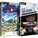FSX Plus Discover Europe Bundle (PC DVD)