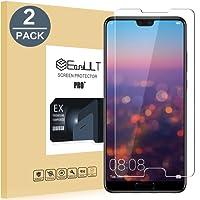 EasyULT [2-Pack] Huawei P20 Pellicola Protettiva, 2 Pack Pellicola Protettiva in Vetro Temperato per Huawei P20
