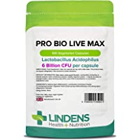 Lindens - probiotique Max (+ prebiotiques) Comprimes - paquet de 100