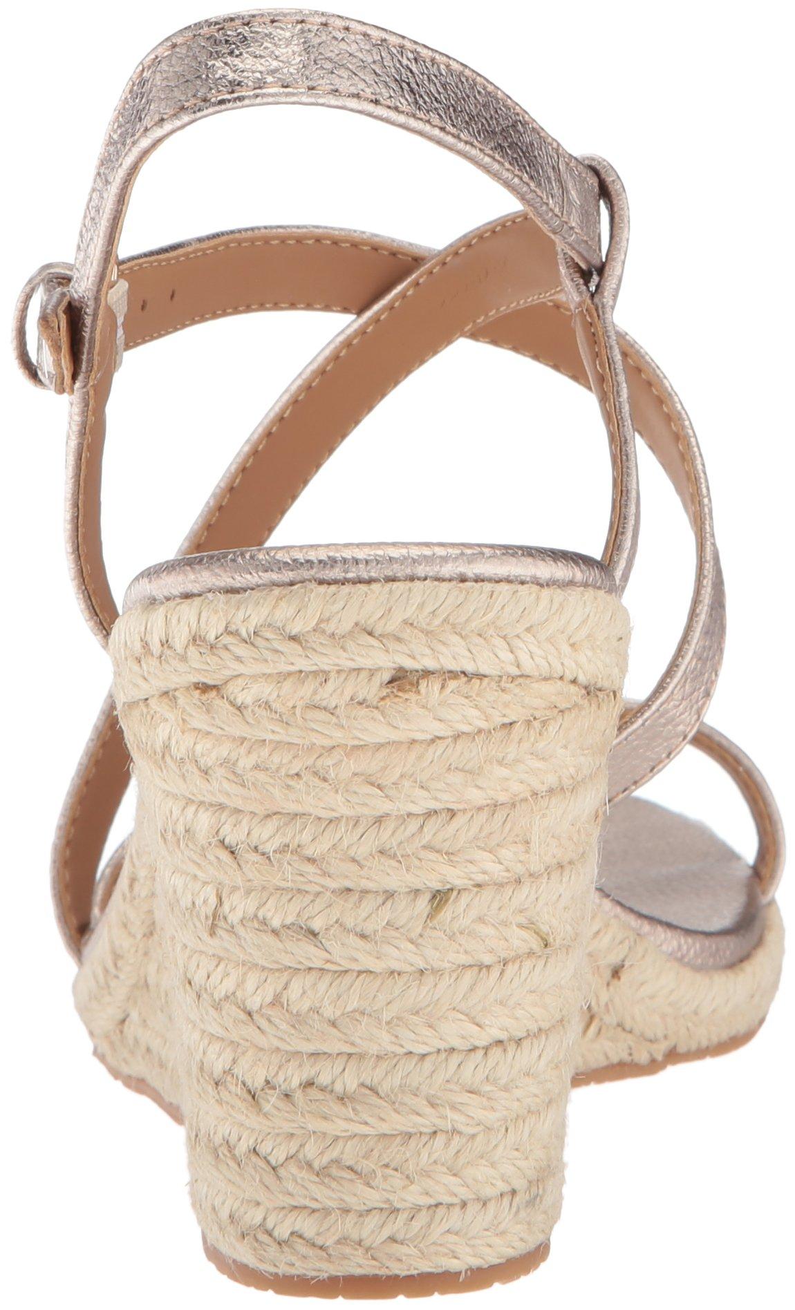 bdb60c980712e Calvin Klein Women s Bellemine Espadrille Wedge Sandal - -   Platforms    Wedges   Clothing