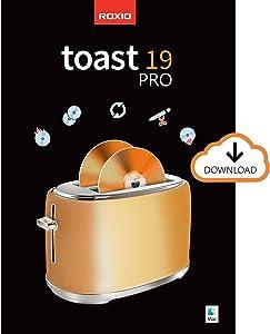 Roxio Toast 19 Pro | CD, DVD & Blu-ray Burner for Mac | Disc Burning, File Conversion, Multimedia Editing Suite [Mac Download]