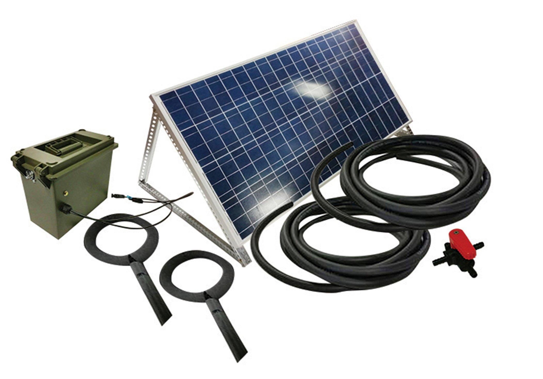 Outdoor Water Solutions SOL0365 AerMaster Aerator DD Solar Koi Pond 2