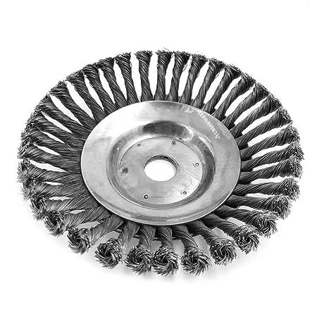 Brucelin - Cepillo de desherbado para jardín, rueda de ...