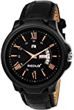 Redux Black Dial Day and Date Functioning Men's Watch RWS0232S