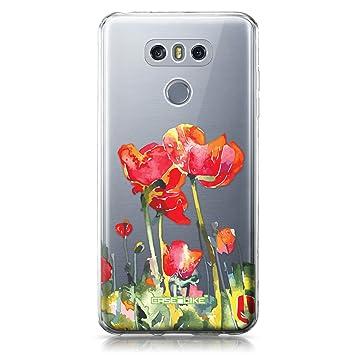 CASEiLIKE Funda LG G6, Carcasa LG G6, Acuarela Floral 2230 ...