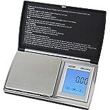 Smart Weigh ACC200 balance de poche à écran tactile digitale de 200 x 0.01g avec écran LCD et rétroé
