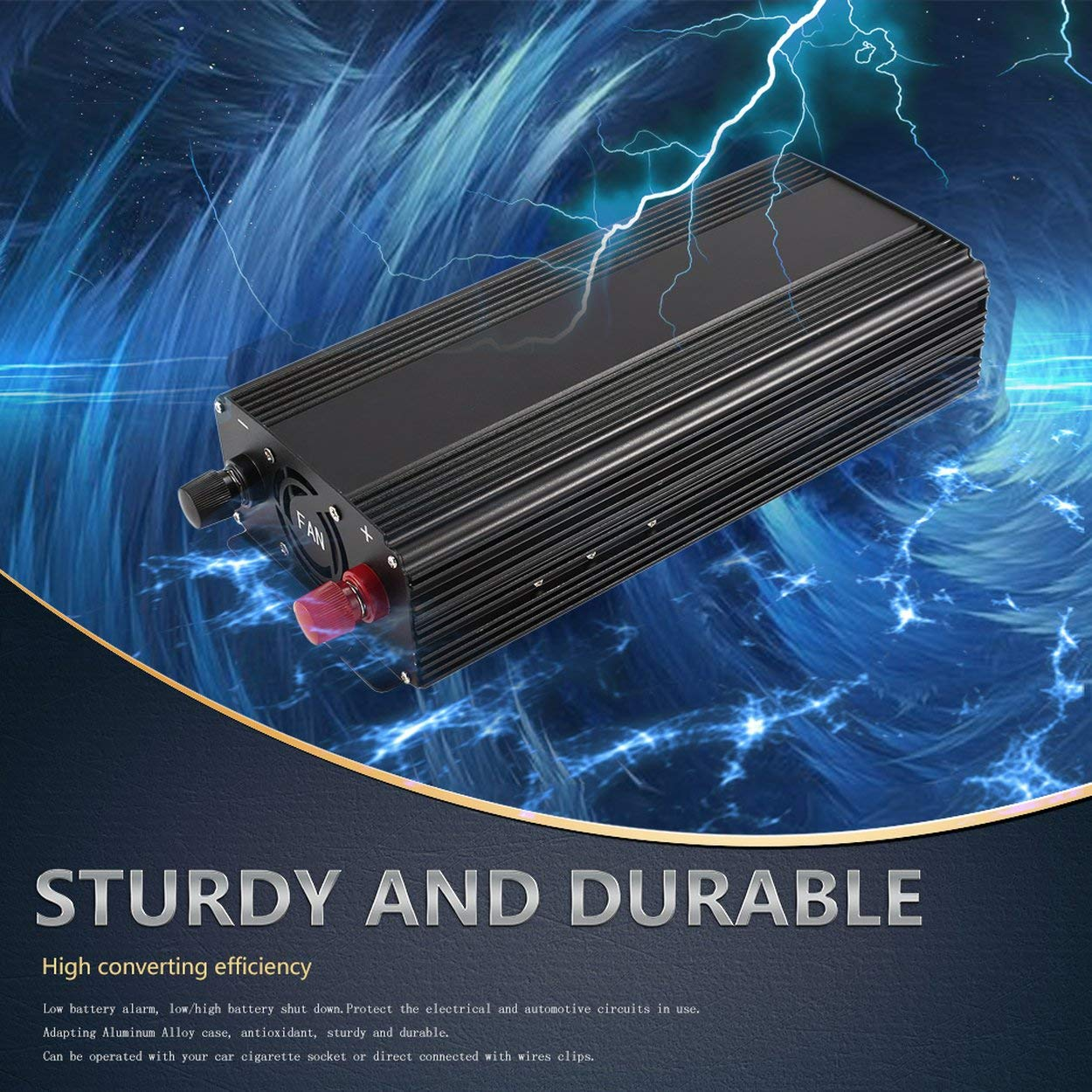 Pure Sine Wave Converter 1500w Dc 12v To Ac 220v Power Schematic For Low Voltage Alarm Inverter Charger Durable Vehicle Supply Switch Car Electronics