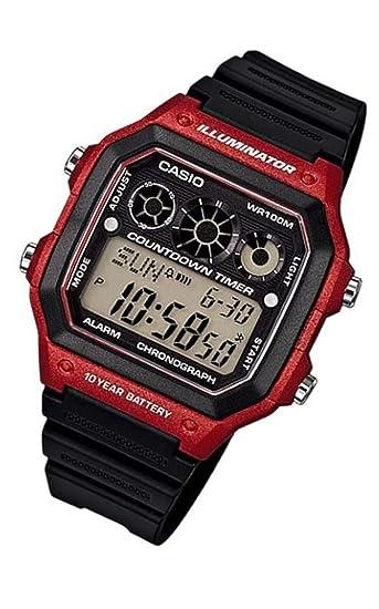 Casio AE 1300WH 4AV Reloj para Hombres: Amazon.es: Relojes